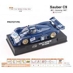 Sauber Mercedes C9 - n.61...
