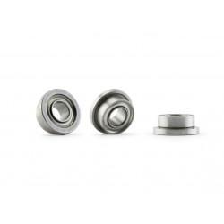 Flanged bearings (2x)
