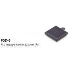 Straight border 61.4mm