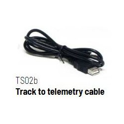 Track to telemetry cable